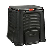 SB Composteira 400L 85x85cm Preto