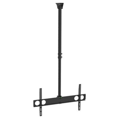 Suporte de Teto com Inclinação TV/LCD LED 86,4x17,3x18cm Preto