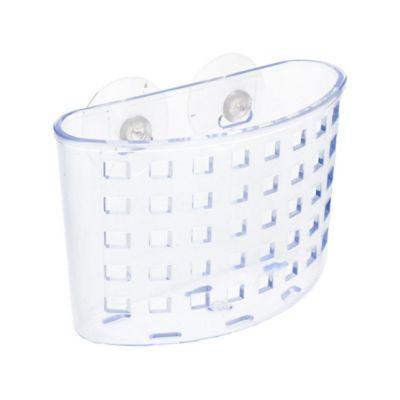 Organizador de Banheiro com Ventosa Transparente