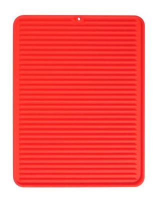 Escorredor de Pia 31x40cm Vermelho