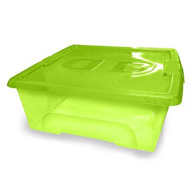 Caixa Dlux 37,9x14,6x37,9cm 15L Verde