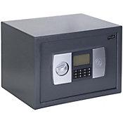 Cofre Digital com Visor Lcd Cd200 Cinza 31x20x20cm