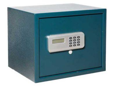 Cofre Digital com Visor Lcd com Motor Aut Cinza, 380x300x300