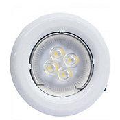 Spot de Embutir de LED SP14 GU10 3000K Luz Amarela Autovolt Fixo