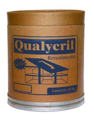 Qualycril Textura HD Barrica, Branco, 25kg