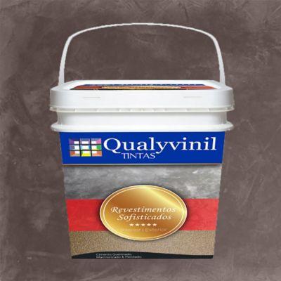Qualyvinil Revestimentos Especiais 5kg - Efeito Marmorizado Travertino