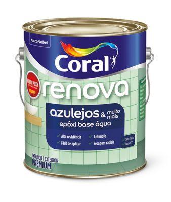 Esmalte Epóxi Acetinado Wandepoxy Base Água, Branco 0.9L