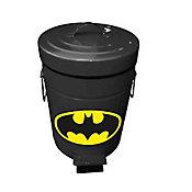 Lixeira Metal DC Batman 5L 20,5X27,2cm Preto