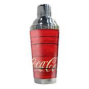 Coqueteleira Coca Cola Met Wood Style Colorido 67 x 83 x 22cm