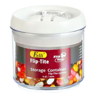 Pote Acrílico com Tampa 750ml Flipe Tite Transparente