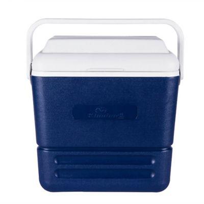 Caixa Térmica 16L Azul e Branco