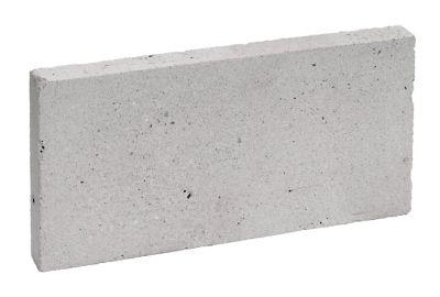 Plaqueta Refratária 2,5x11,4x23cm Branco Gelo