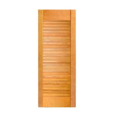 Folha de Porta Madeira Macica Tauari Natual 210x90x3,5cm Suica