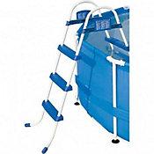 Escada Bel Life 3 Degraus Premium, Azul Branco
