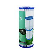 Filtro Para Piscinas 3000 L/H, Azul Branco, 220V