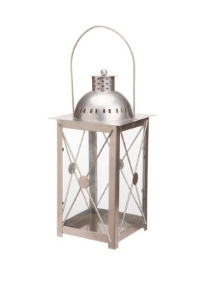 Lanterna Deco Ferro, Preto, 15x30x15cm
