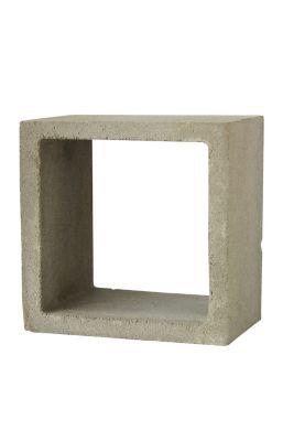 Duto para Churrasqueira 25x25x25cm Concreto