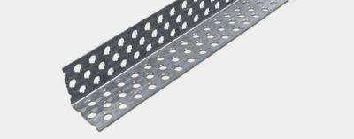Cantoneira Metálica de Aço Perfurado 2,3x2,3x300cm Cinza