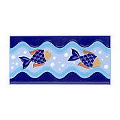 Revestimento Caraubas, Azul, 10x20cm,