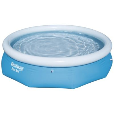Piscina Inflavel Redondo Fast Set 3638L Azul