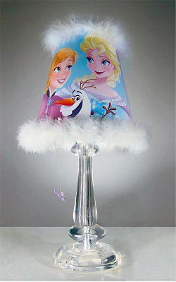 Abajur Frozen Colorido
