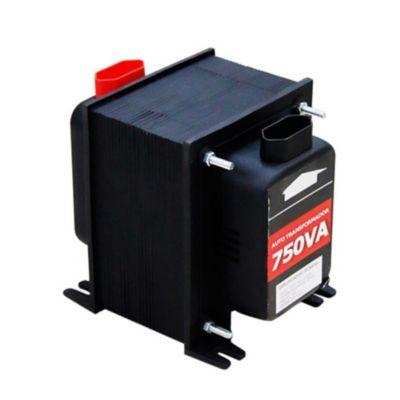 Autotransformador Com Protetor Térmico 750Va - 110V<->220V Para Moedor De Carnes, Bomba D¿Água 1/4 Cv, Furadeira e Multiprocessador.