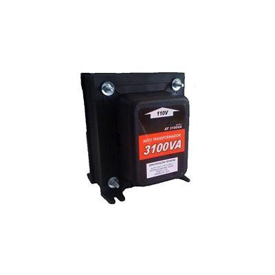 Autotransformador Com Protetor Térmico 3100Va 2170W - 110V<->220V Para Ar Condicionado 9.000 e 10.000 Btu¿S, Secador De Cabelo(Grande), Boiler 50 e 60L, Forno Elétrico, Lavadora De Louça e Aquecedor De Ambiente