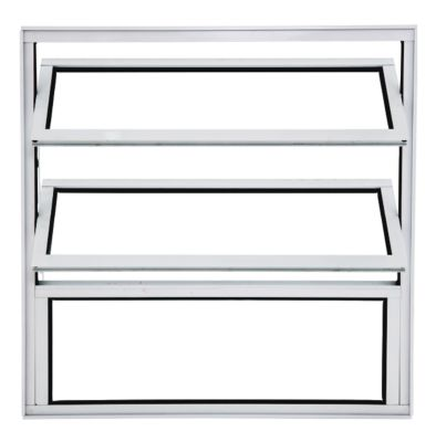 Janela Basculante Alumínio Branco 100x80x3cm Boldie