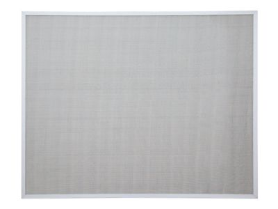 Tela Mosquiteira Aluminio Inteiriça Alumifort 120x150x3cm Perfil branco/Malha cinza Alumifort