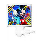 Abajur LED Mickey 11x21,8cm Colorido