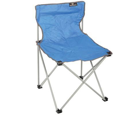Cadeira Dobrável Sem Apoio de Braço 73x48x48cm Azul