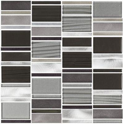 Mosaico Platinum Bold 29,8x29,4cm Cinza