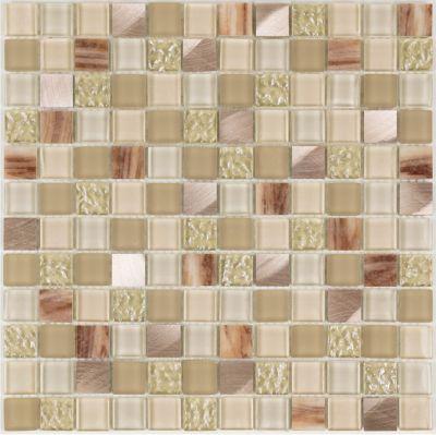 Mosaico Blende Glass Be Bold 30x30cm Bege