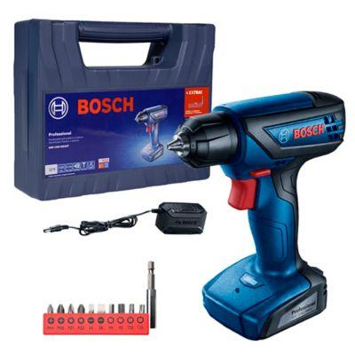 Parafusadeira Furadeira Bosch GSR 1000 Smart 12V Bivolt, kit