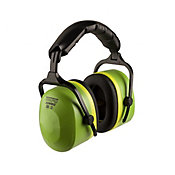 Protetor Auricular Tipo Concha 26DB NRRSF Verde e Preto