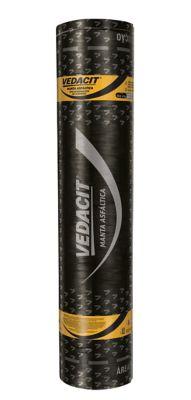 Manta Asfáltica Vedamax Alumínio 3mm Preto