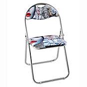 Cadeira Dobrável Sexy Chic Metal Colorido