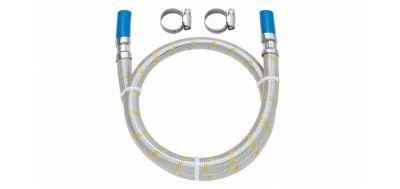 Ligação Flexível para Instalação a Gás 1,20m Cromado