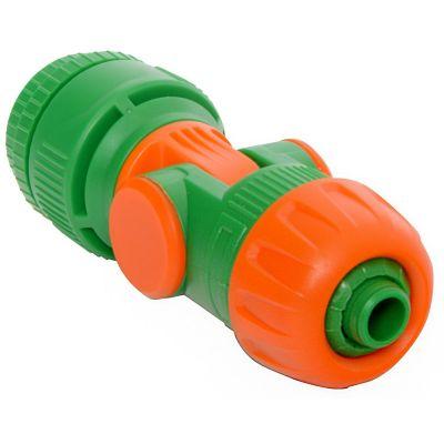 Conector de Irrigação Flexível 11x4x4cm Amarelo