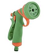 Pistola para Irrigação 7 Funções Verde e Laranja