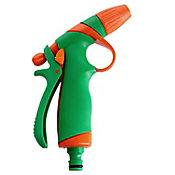 Pistola de Irrigação Anti Quebra Emborrachada 20x12x3,8cm Verde