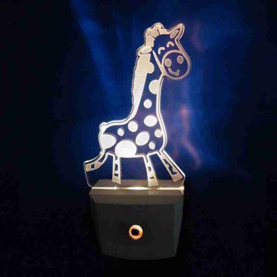 Luz Noturna Girafabiv Bivolt Branco
