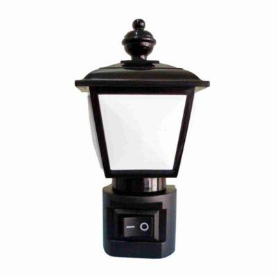 Luz Noturna Suave Lâmpião 127V Preto