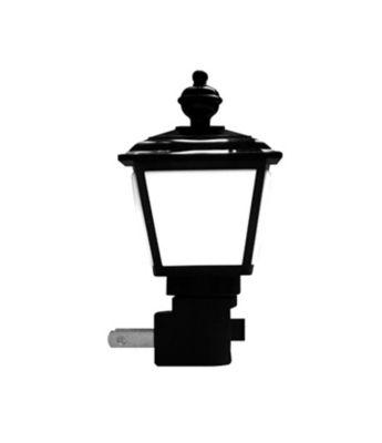 Luz Noturna Suave Lâmpião 220V Preto