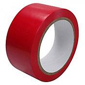 Rolo de Fita para Demarcação 4,8x3000cm Vermelha