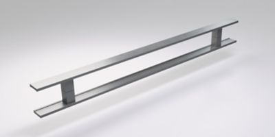Puxador Milão Escovado 80cm