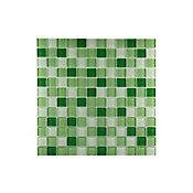 Pastilha de Vidro MT52 Mix, Verde