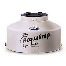 Caixa De Água 500L Água Limpa Polietileno Tampa Rosca Bege