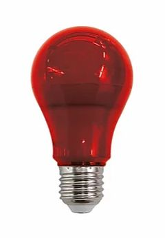 Lâmpada LED Bulbo Luz Vermelha 10W Bivolt