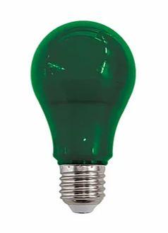 Lâmpada LED Bulbo Luz Verde 10W Bivolt